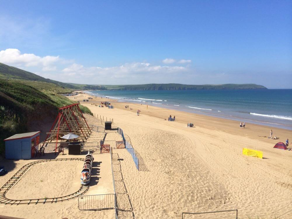 Woolacombe Beach .. Voted Best Beach in the UK 2016 for the second year running by Trip Advisor