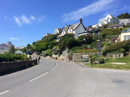 The road from Mortehoe down to Woolacombe